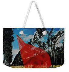 Scarf In The Winds Weekender Tote Bag