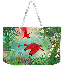 Scarlet Corocoro - Limited Edition 1 Of 20 Weekender Tote Bag