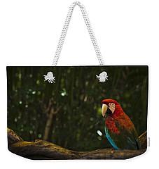 Scarlet Macaw Profile Weekender Tote Bag