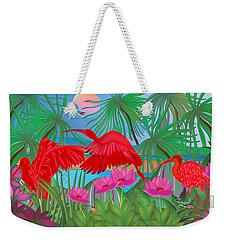 Scarlet Summer Dance - Limited Edition 1 Of 20 Weekender Tote Bag