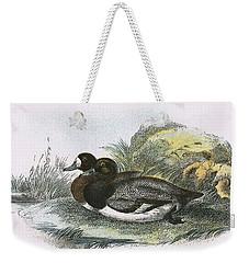 Scaup Duck Weekender Tote Bag