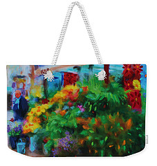 Scene From La Rambla Weekender Tote Bag