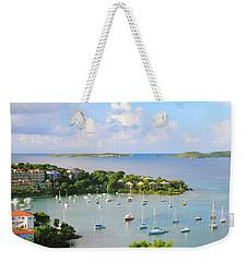 Scenic Overlook Of Cruz Bay St. John Usvi Weekender Tote Bag