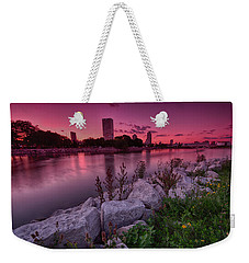 Scenic Sunset Weekender Tote Bag