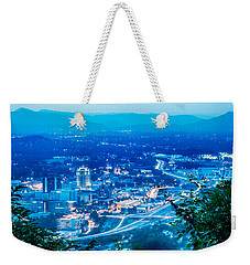 Scenics Around Mill Mountain Roanoke Virginia Usa Weekender Tote Bag