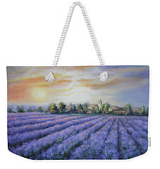 Scented Field Weekender Tote Bag