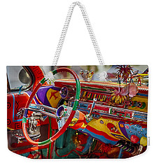 Scharfs Bomb Cadi Ultima Suprema Deluxa Interior Graffiti Weekender Tote Bag