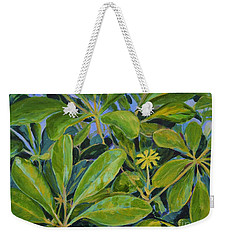 Schefflera-right View Weekender Tote Bag