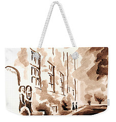 School Days At Ursuline Weekender Tote Bag