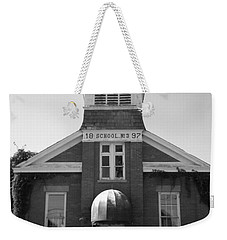 Weekender Tote Bag featuring the photograph School House by Michael Krek