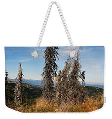 Schweitzer Mountain 2 Weekender Tote Bag by Ellen Tully