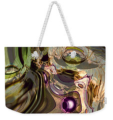 Weekender Tote Bag featuring the digital art Sci-fi Fury by Richard Thomas