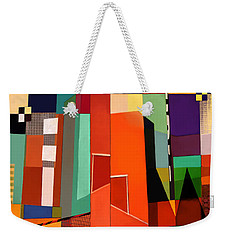 Weekender Tote Bag featuring the photograph Science Museum Fort Worth Tx by Elena Nosyreva
