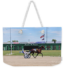 D3w-206 Scioto Downs Photo Weekender Tote Bag