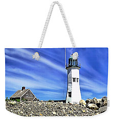 Scituate Lighthouse Weekender Tote Bag
