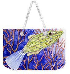 Scrawled Filefish Weekender Tote Bag