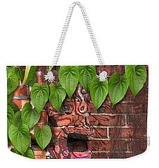 Screaming Wall Weekender Tote Bag