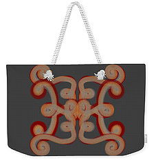 Weekender Tote Bag featuring the digital art Scroll by Christine Fournier