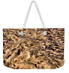 Sculpture By The Tide Weekender Tote Bag by Gary Slawsky