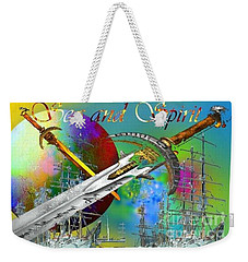 Sea And Spirit Weekender Tote Bag