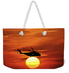 Sea Dragon Sunset Weekender Tote Bag