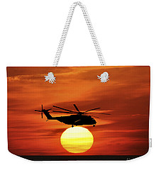 Sea Dragon Sunset Weekender Tote Bag
