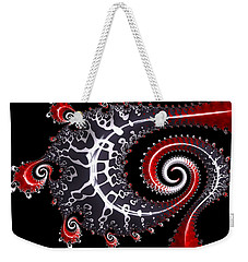 Weekender Tote Bag featuring the digital art Sea Dragon by Susan Maxwell Schmidt