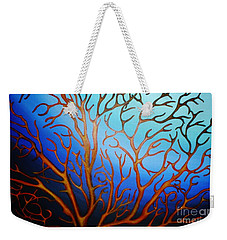 Sea Fan In Backlight Weekender Tote Bag
