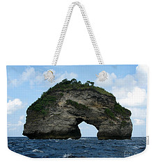Weekender Tote Bag featuring the photograph Sea Gate by Sergey Lukashin