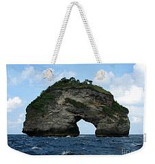 Sea Gate Weekender Tote Bag by Sergey Lukashin