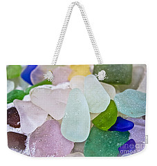 Sea Glass Weekender Tote Bag