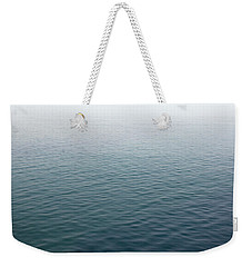 Weekender Tote Bag featuring the photograph Sea Mist by Jane McIlroy