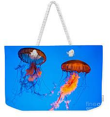 Sea Nettles Weekender Tote Bag