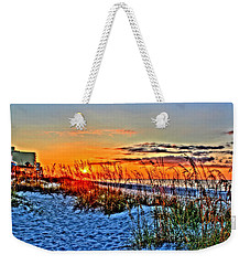 Sea Oats At Sunrise Weekender Tote Bag