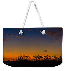 Sea Oats At Twilight Weekender Tote Bag