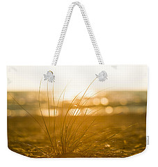 Weekender Tote Bag featuring the photograph Sea Oats Sunset by Sebastian Musial