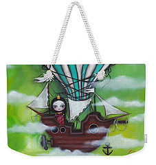 Sea Of Clouds Weekender Tote Bag by Abril Andrade Griffith