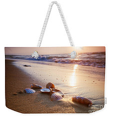 Sea Shells On Sand Weekender Tote Bag