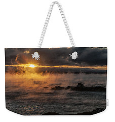 Sea Smoke Sunrise Weekender Tote Bag