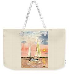 Sea Star Weekender Tote Bag by Melly Terpening