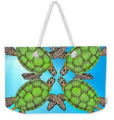 Sea Turtles Weekender Tote Bag by Betsy Knapp