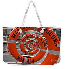 Seabourn Sojourn Spiral. Weekender Tote Bag