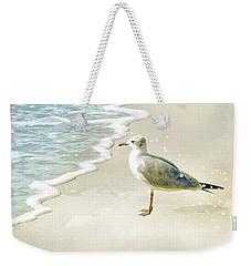 Seagull 2 Plum Island Weekender Tote Bag
