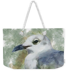 Seagull Closeup Weekender Tote Bag by Greg Collins