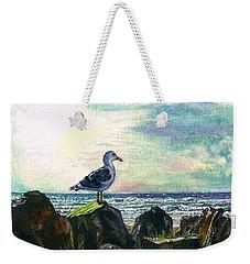 Seagull Lookout Weekender Tote Bag