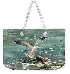 Seagull Weekender Tote Bag by Melly Terpening