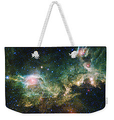 Seagull Nebula Weekender Tote Bag by Adam Romanowicz