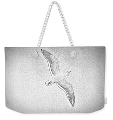 Seagull Sketch Weekender Tote Bag