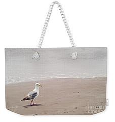 Seagull Strolling Weekender Tote Bag by Cindy Garber Iverson