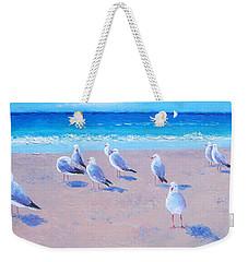 Seagulls Weekender Tote Bag by Jan Matson